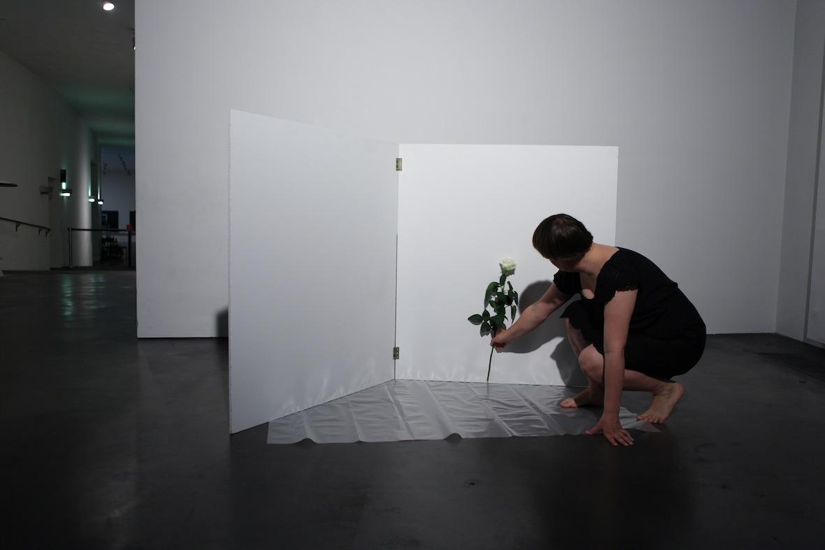 Installing a flower